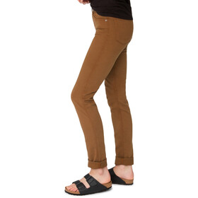 DUER No Sweat Straight-Leg Pants Women, rust
